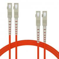 Wholesale OM1 OM2 Orange Fiber optic patch cord OS1 OS2  MM SX DX multicore can be customized from china suppliers