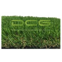 Wholesale Olive Shape Waterproof Artificial Grass No Infill 30mm Height 2 Layers Backing from china suppliers