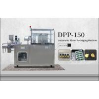 China DPP-150 GMP Standard Automatic E-cigarette Pod Capsule Tablet Pill Blister Packing Machine on sale