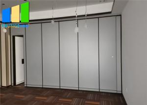 Wholesale Customized Hotel Soundproofing Movable Sliding Partition Walls from china suppliers
