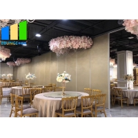 Wholesale Laminate Soundproof Flexible Conference Room Sliding Folding Partition Walls from china suppliers