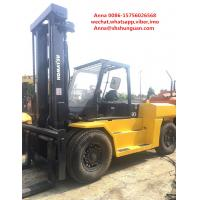 Buy cheap Japan second hand Komatsu 15ton forklift , FD150E-7 15t capacity forklift for from wholesalers