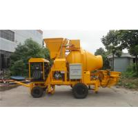Wholesale Professional Generator Trailer Concrete Pump With Mixer 50kw 4000Kg Weight from china suppliers