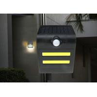 China Weatherproof Solar Motion Detector Lights 100lm / W Bright , 50000 Hrs Warranty on sale