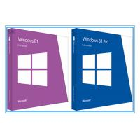 Wholesale Globally Activate online Windows 8.1 Pro 64 Bit / 32 bit OEM Package from china suppliers