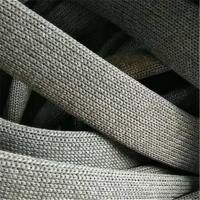 China Durable Outdoor Furniture Rope , Light Grey Elastic Rubber Woven Ropes on sale