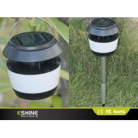Wholesale ABS 8 LEDs Solar Led Street Lights For Garden with Stainless Steel Rod from china suppliers