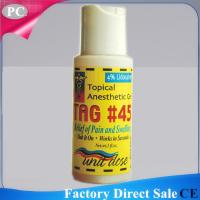 China Topical Original During Tattoo Anaesthetic Numb TAG#45 Anesthetic Gel Midway No Pain Gel Manufacturer on sale