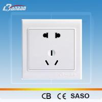 Wholesale LK4015 2pole 3pin PC flush type power socket from china suppliers