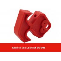 Wholesale MCCB Red Nylon Easy to Use Moulded Case Circuit Breaker Lockout from china suppliers