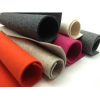 Wholesale Black, Grey, Red or Customized Colored 100% Wool Felt  for Craft, Laptop Sleeves, Bags from china suppliers