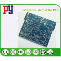 Wholesale Immersion Tin Fr4 Single Sided PCB Board For Automobile Control Gold Finger from china suppliers