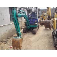 Wholesale Used KOMATSU PC15  1.5 Ton Mini Excavator For Sale with Rubber track shoe from china suppliers