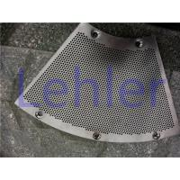 Wholesale Electrolytic Polish Pressure Screen Basket With Hard Chrome Coating Drilled Type from china suppliers