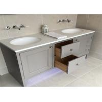 Wholesale Custom Bathroom Vanity Cabinets Paint Surface Granite Countertop Including Basin Faucet from china suppliers
