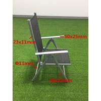 Quality Aluminum Garden Outdoor Furnitures CE Approval Metal Beach Folding Sun Chair for sale