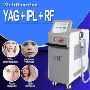 Wholesale ISO9001 ND YAG Laser IPL RF E Light Professional Skin Care Equipment from china suppliers