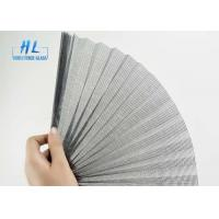 Wholesale Polyester Plisse Retractable Screen , 80g/M2 Weight Pleated Fly Screen from china suppliers