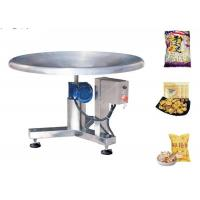 Buy cheap Stainless Steel Food Packing Machine Disc Feeding Table For Pouch Package from wholesalers