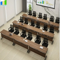 Buy cheap Ebunge Meeting Training Room Tables Tops Desks Stackable Conference Tables from wholesalers