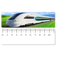 Wholesale 5.4x31cm High - Speed Train 3D Lenticular Ruler PET Material For Student Stationery from china suppliers