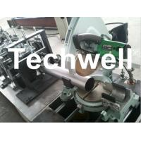 Wholesale Round Rainspout Roll Forming Machine for Rainwater Downpipe, Downspout Drainage from china suppliers