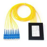 Wholesale ABS Box Type Fiber Optic PLC Splitter 1x8 2.0mm Sc/Upc Connector Compact Design from china suppliers