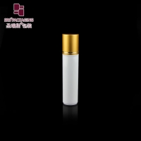 Wholesale SRS packaging empty cosmetic white color round shape 30ml roller ball bottle from china suppliers