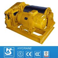 Single Drum Open/Closed Gearing Wire Rope Crane Electric Winch Customized Design for sale