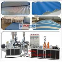 Three layer PVC Corrugated tile making machine for roofing sheet
