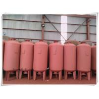 China Red Color Water Pump Diaphragm Pressure Tank For Water Supply System High Building on sale