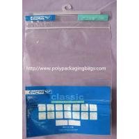 Wholesale Advertisement Recyclable Plastic Bags With Hangers Customized from china suppliers