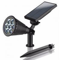 Wholesale Waterproof RGB 7 Colors Solar Powered Led Sensor Light 3 Watt ABS Material from china suppliers