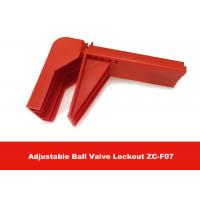 Wholesale 326G Durable Plastic Flame-retardant Material Valve Lock Out , English Labels is Available from china suppliers