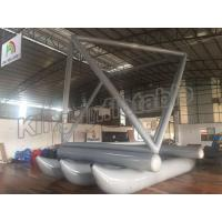 Special Design Grey Inflatable Fly Fishing Boats For Sailing Games Use for sale