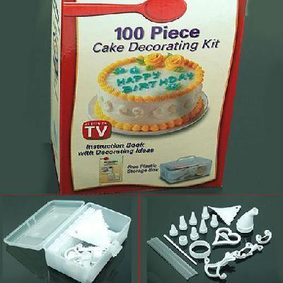 Cake Decorating Equipment Storage Box : 100 Piece Cake Decorating Frosting Icing Decorating With ...