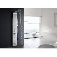 China 4 Water Diverters Modern Shower Panel , ROVATE Tub Shower Panels With Handheld Sprayer on sale