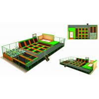 Wholesale 200M2 Gymnastic Indoor Trampoline Equipment Discount Large Children Trampoline from china suppliers