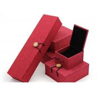 Wholesale Luxury Necklace Paper Jewelry Box Offset Printing Durable For Presentation Gift from china suppliers