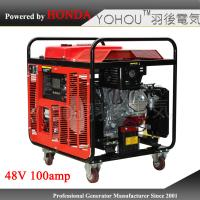 China Small portable dc generator 48 volt gasoline generator for base station on sale