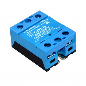 Wholesale Panel Mount 5A-100A 2500VAC 1 Phase AC SSR Relay from china suppliers