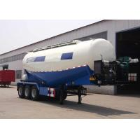 Wholesale Three Axles Cement Tanker Semi Trailer 35 - 45 CBM For Transport Dust Material from china suppliers