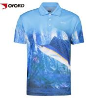 Wholesale UV Protection  Custom Fishing Team Shirts Quick Dry Short Sleeves Anti Bacterial from china suppliers