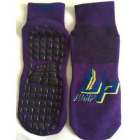 Wholesale Quick Dry Cotton Trampoline Socks Open Jump Grip Non Slip Trampoline Socks for Adults from china suppliers