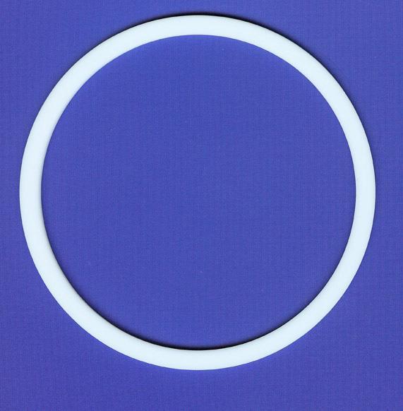 Custom white chemical resistant o rings teflon check