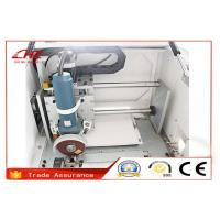 Compact Automatic Metal Steel Notching Machine Stable Performance