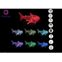 Wholesale 7 Colors RGB Shark Gifts for Girls Night Lamps Bedroom Shark Night Light Plug in from china suppliers