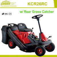 """Buy cheap 26"""" and 8HP Riding Mower with rear grass catcher for garden , park or school from wholesalers"""