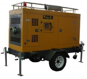 China Self priming 4 inch diesel water pump , diesel powered pumps for farm irrigation on sale
