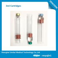 Quality Multi Function Insulin Pen Cartridge 3ml For Insulin Pen Top Cap Plunger  for sale